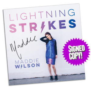 Lightning Strikes signed