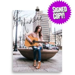 Maddie signed poster